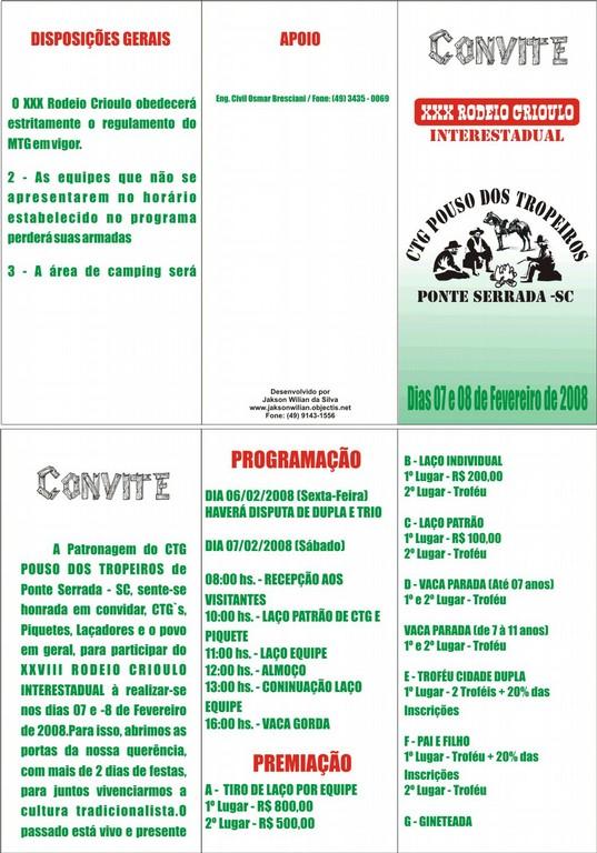 Convite Rodeio CTG Pouso dos Tropeiros - big