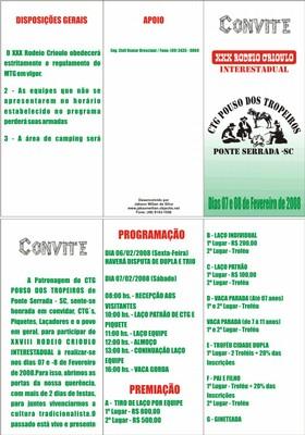 Convite Rodeio CTG Pouso dos Tropeiros - small