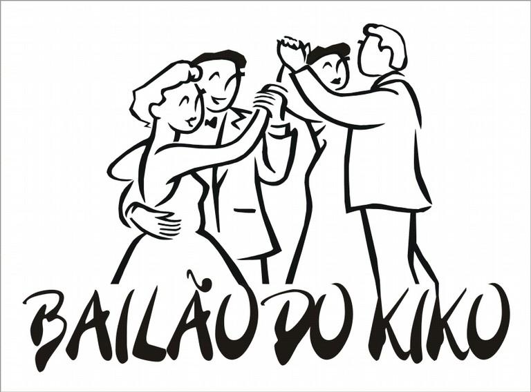 Logotipo Bailão do kIkO - big
